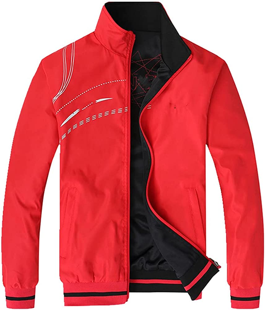 Max 59% OFF Men's Jacket Spring Autumn Sports Clothes Sportswea Collar Special Campaign Stand