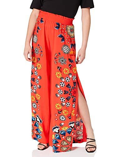 Desigual Pant_chipre Swimwear Cover Up, Colore: Rosso, L Donna