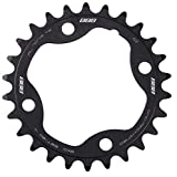 BBB 2909694226 Plato de Bicicleta, Unisex, Negro, MTB 2X10 26T/80