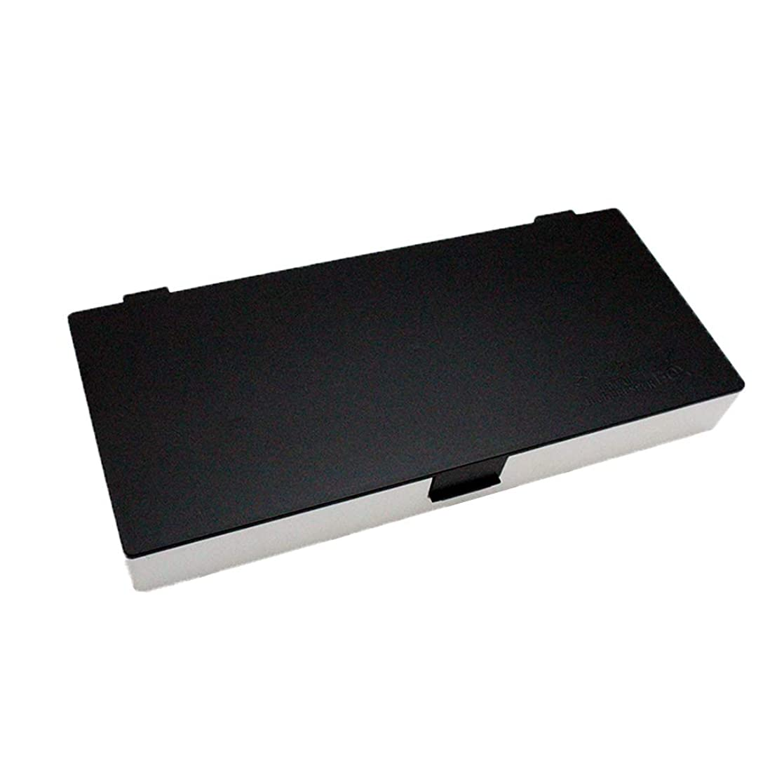 抜粋ジェム不愉快にアップスタイリングシステムボックス (白黒) ノンスリップ ヘアピン ケース コスメボックス メイクボックス メークボックス メイクケース メークケース