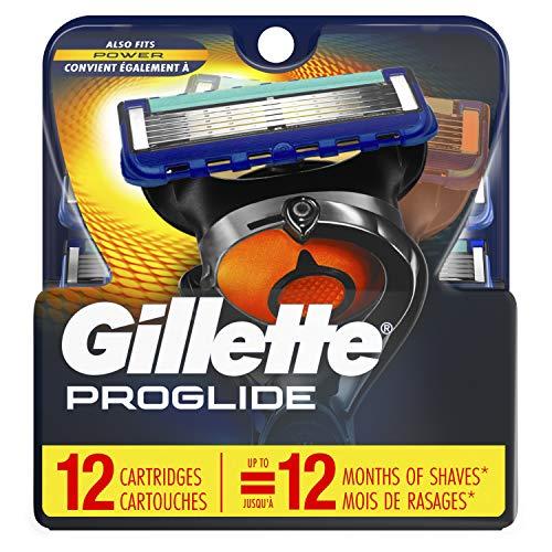 Price comparison product image Gillette Fusion ProGlide Manual Men's Razor Blade Refills,  12 Count,  Mens Razors / Blades