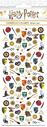 Paper House Productions STM-0021 Harry Potter Micro Stickers, 3-pack, Assorted Colors