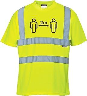 Social Distance T-shirt haute visibilité