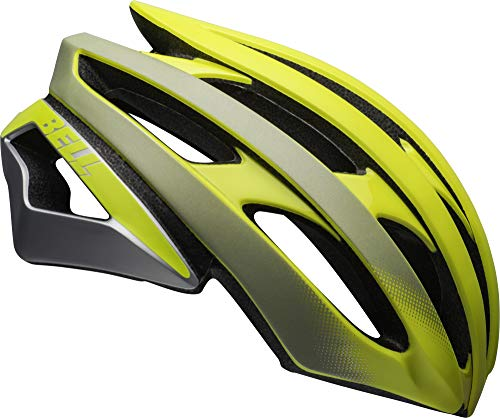 Bell Stratus Ghost MIPS Adult Road Bike Helmet - Ghost Matte/Gloss Hi-Viz Reflective (2021), Small (52-56 cm)