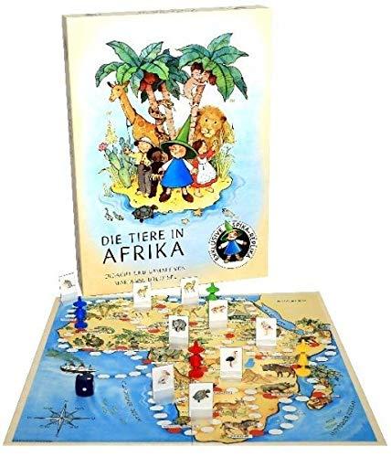Die Tiere in Afrika (Kinderspiel)