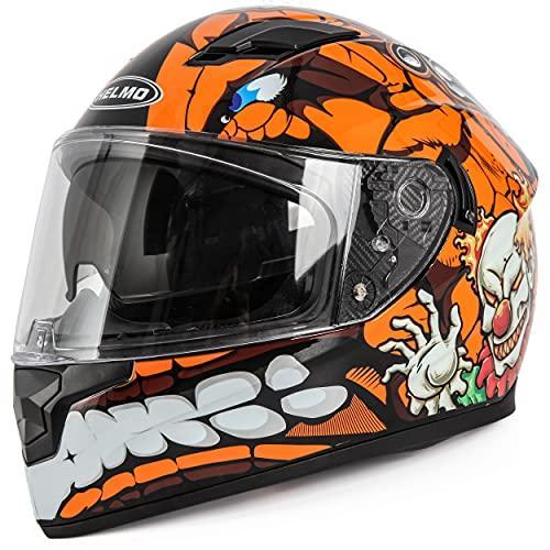 HELMO DOT Approved Motorcycle Helmet
