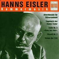 Hanns Eisler: Chamber Music by Eisler (1999-11-16)