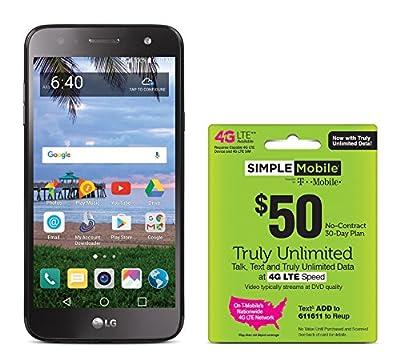 Simple Mobile Phone LG Fiesta Prepaid Carrier Locked
