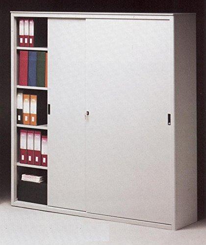 Archivador con puertas correderas cm. 180x45x200H Complementos para muebles: Amazon.es: Hogar
