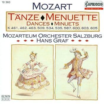 Mozart, W.A.: Orchestral Music - K. 461, 462, 463, 509, 534, 535, 587, 600, 603, 605
