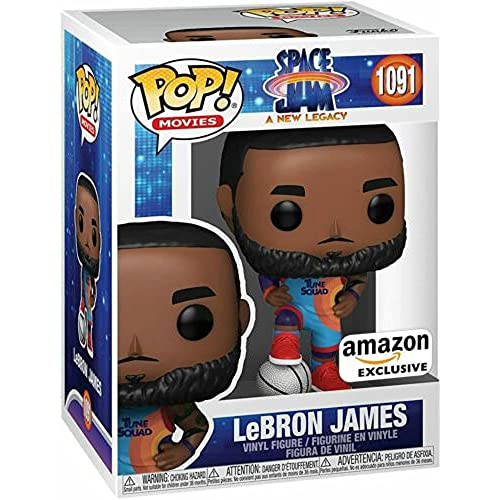 Funko Pop Movie Space Jam Lebron James Figure Collectible Toy Boy's Toy