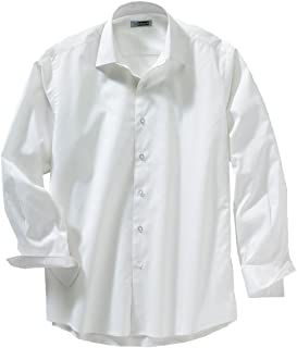 158dc183dd780 Ed Garments Men s Cotton Poly Spandex Tailored Fit Spread Collar Dress Shirt