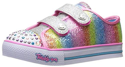 Skechers Mädchen Step Up-Sparkle Kicks Sneaker, Mehrfarbig (Multi), 21 EU