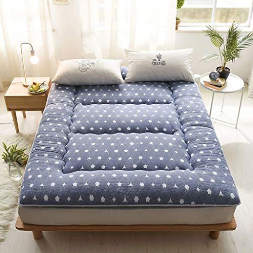 TUTUMAO Tatami matras, opvouwbaar, Japanse pocketveringmatras, hypoallergeen, futonbed