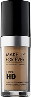 Make Up For Ever Ultra HD Invisible Cover Foundation Y375,Golden Sand (I000032375)