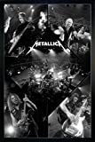 Close Up Metallica Poster Live (66x96,5 cm) gerahmt in: