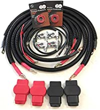 Battery Cable Set Kit for Dodge Ram 2500/3500 1998-2002 Gen 2.5 with 24 valve 5.9L Cummins
