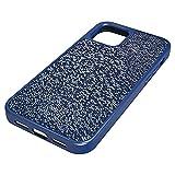 Swarovski Funda para smartphone Glam Rock, iPhone® 12/12 Pro, Azul