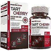 Tart Cherry Extract 1500mg W/ Patented VitaCherry - Organic Antioxidant Immune Support - 60 Veggie Capsules