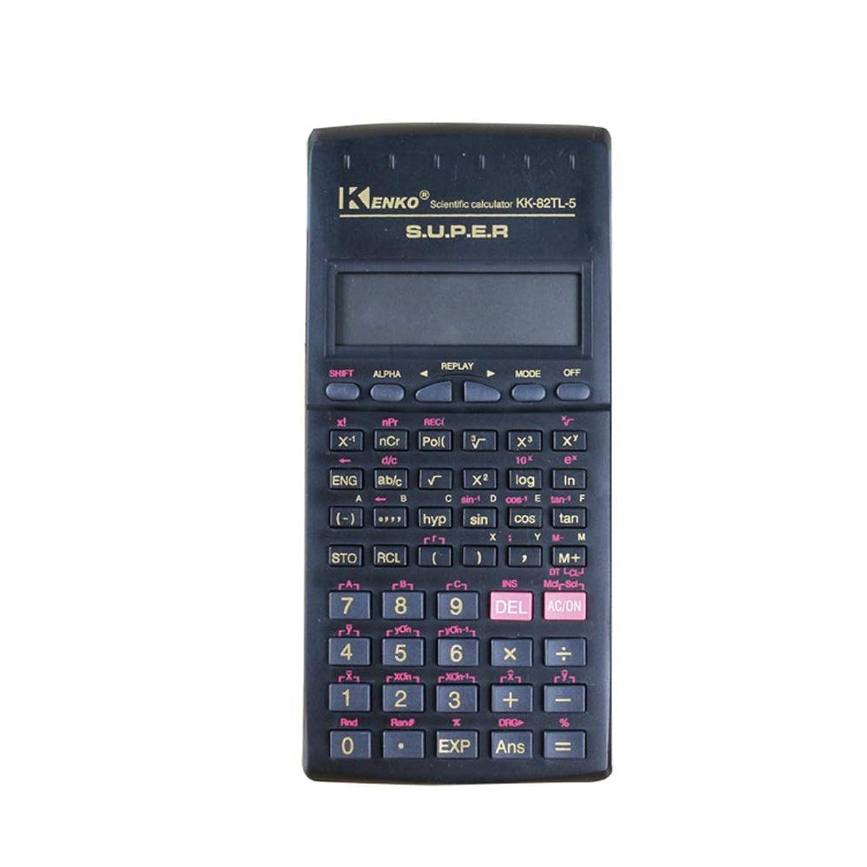 いとこ十分です証人デスク電卓 学校工学会計のために多機能科学計算機2ライン 学校ホームオフィス用 (色 : Photo Color, サイズ : ワンサイズ)