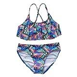Amlaiworld Traje de baño para niñas Verano Niños Adolescentes Niña Imprimir Verano Ropa de Playa Traje de baño Traje de baño Bikini Ropa Trajes