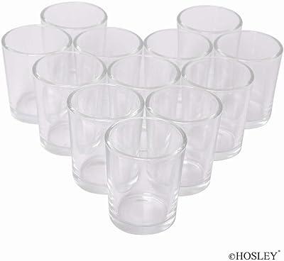 13x13x10 cm Him Clover Porcelain Tea Light Holder White