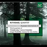 Tchaikovsky; String Quartet no. 3 op. 30; IV: Finale. Allegro non troppo e risoluto
