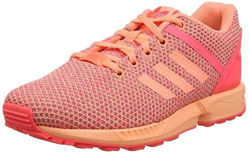 adidas Unisex Zx Flux Split K Sneaker, lachs, 37 1/3 EU