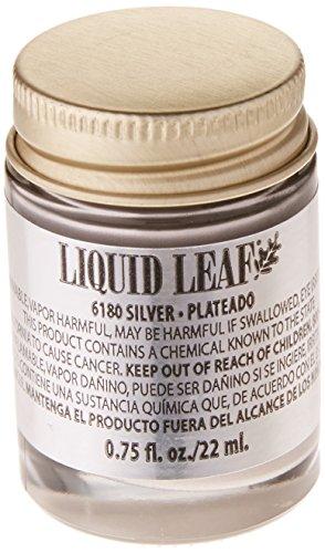 Plaid PLA6180 Liquid Leaf One-Step Leafing Paint 0.75oz