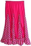 La Señorita Flamenco Rock - Vestido español para niños (tallas 8, 116-122, longitud 65 cm)
