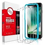 SmartDevil [3-Pezzi] Vetro Temperato Compatibile con iPhone SE 2020/8/7 [Strumento per Una Facile...