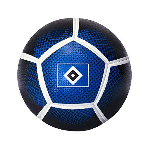 Hamburger SV HSV Ball/Fussball ** weiß blau schwarz Carbon ** Gr. 5