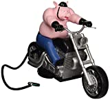 Hitch Critters 1032 Wheelie Hog Animated Ball Hitch Cover and Brake Light