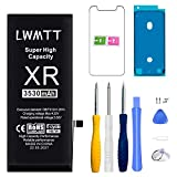 LWMTT Batterie Haut Capacité Interne Compatible pour iPhone XR 3530mAh Batterie Lithium-ION...