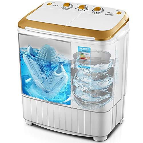 Double Barrel schoenwasmachine, wasmachine, uv-blauw antibacterieel, met droge dehydratie, 360 ° schoon, kan in de tijd worden ingesteld goud