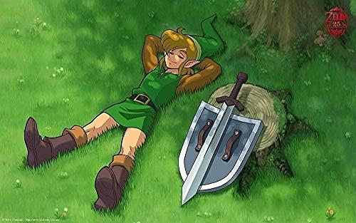 EDZXC-Póster La Leyenda de Zelda,Jigsaw Puzzle 1000 Piezas,Adult Kids Grown Up Puzzles Juegos...