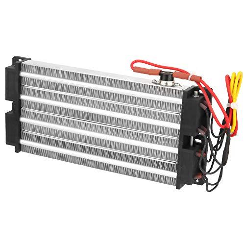 Calefacción PTC acanalada, aumento de la temperatura ambiente, elemento calefactor de canaletas automático, fabricado con termistores PTC.