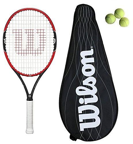 Wilson Pro Personal 25 Junior Raqueta Tenis + 3 Pelotas