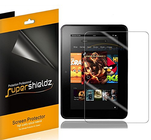 (3 Pack) Supershieldz Anti Glare (Matte) Screen Protector Designed for Kindle Fire HD 7 inch Tablet (2012, 1st Generation Only)