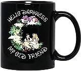 Alice 's Adventures In #wonderland #cheshire Cat Tazza da caffè divertente per donne e uomini Tazze da tè Tazza con manico, tazza da caffè riutilizzabile in ceramica isolata, tazza da viaggio per caff
