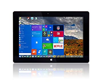 10   Windows 10 by Fusion5 Ultra Slim Design Windows Tablet PC - 32GB Storage 2GB RAM - Complete with Touch Screen Dual Camera Bluetooth Tablet PC