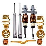 maXpeedingrods Amortiguador de Muelle Coche Auto para Polo 4 MK4 9N 1.2L 1.4L Ibiza MK3 02-08