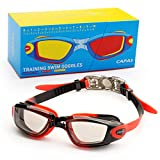 CAPAS Kids Swim Goggles, Age 4-12 Boys Girls Swimming Goggles...