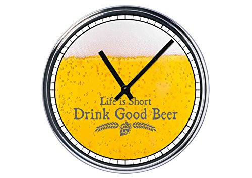 Reloj De Pared Con cerveza