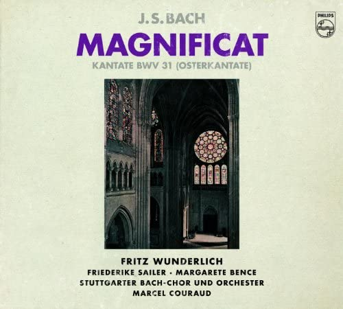 Fritz Wunderlich, Friederike Sailer, Margaret Bence, August Messthaler, Stuttgarter Bach-Chor, Stuttgarter Bach-Orchester & Marcel Couraud