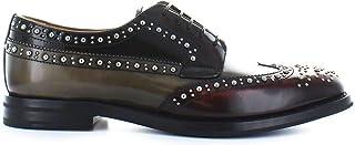 CHURCH'S Women's DE01379ADRF0UCS Multicolor Leather Lace-Up Shoes