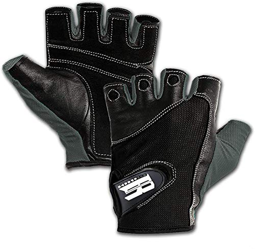 Premium Leather Workout Gloves for Women & Men