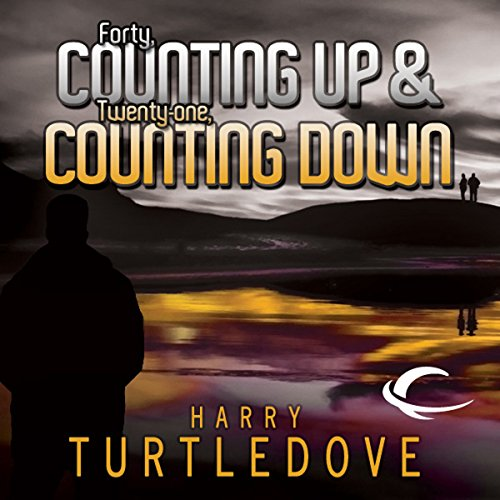 'Forty, Counting Down' and 'Twenty-One, Counting Up' cover art