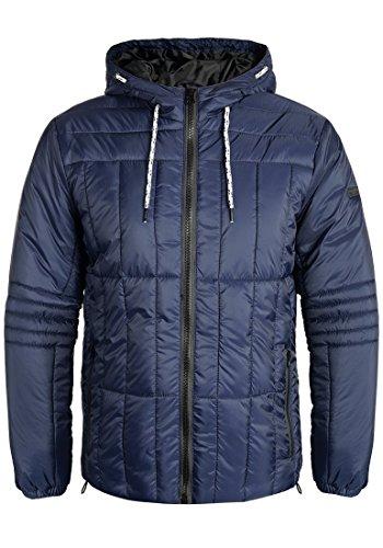 Blend Santiago Herren Steppjacke Übergangsjacke Jacke mit Kapuze, Größe:L, Farbe:Dark Blue (74629)
