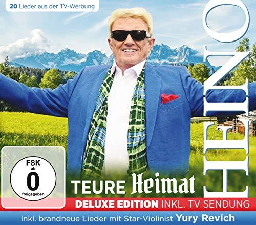 Teure Heimat - Deluxe Edition inkl.TV Sendung (CD+DVD) mit brandneuen Liedern mit Star-Violinist Yury Revich
